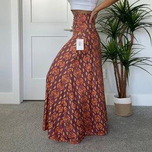 Colorful Lularoe Maxi Skirt